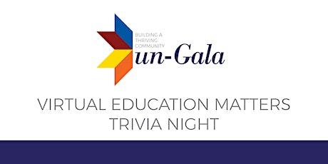Virtual Education Matters Trivia Night tickets