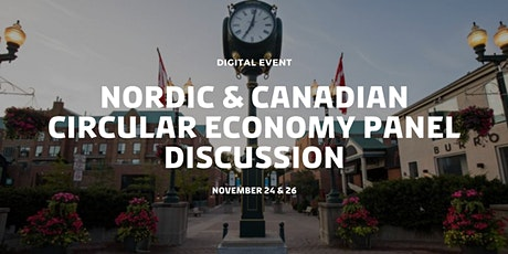 Nordic & Canadian Circular Economy Panel Discussion tickets
