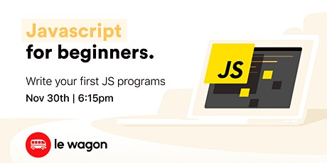 Javascript for Beginners tickets