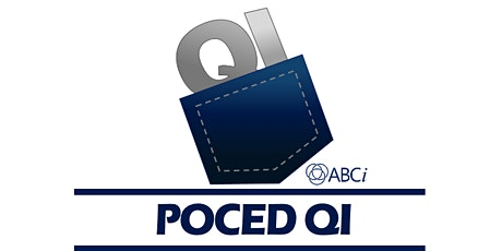 ABCi Poced QI (Virtual)- Part 1 - 13/01/2021 - ABUHB Staff Tickets