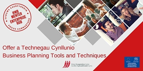 Offer a technegau cynllunio | Business planning tools and techniques tickets