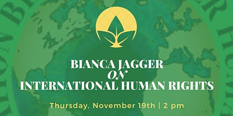 Bianca Jagger Lecture on International Human Rights tickets
