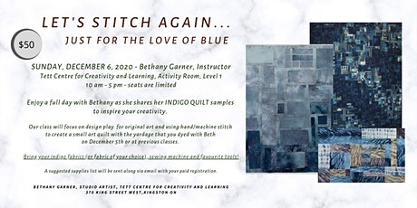 LET'S STITCH AGAIN - For the Love of Blue tickets