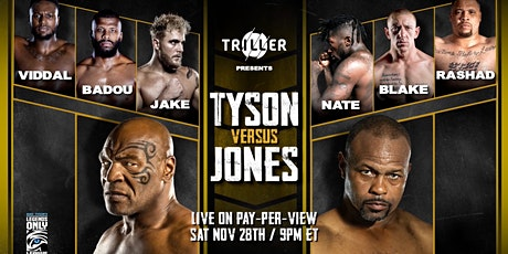Delray Beach Boxing Presents:  Mike Tyson vs. Roy Jones Jr. tickets