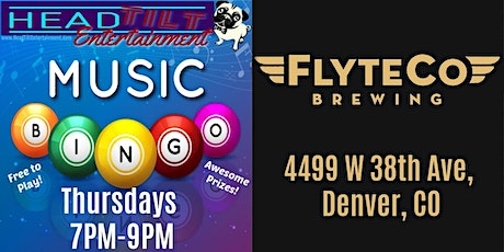 Music Bingo at FlyteCo Brewing tickets