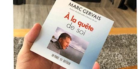Recevez ce disque compact : À la quête de soi, dédicacé par Marc Gervais billets