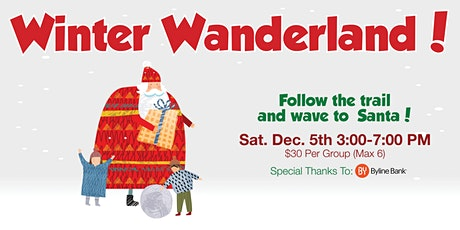 """Winter Wanderland"" at the Community House tickets"