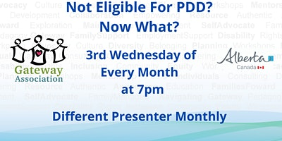 Not PDD Eligible? Now What?