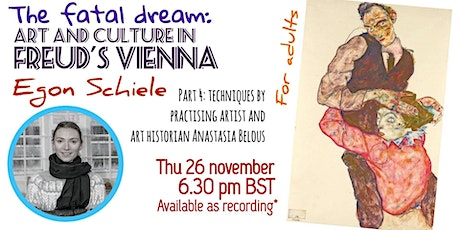 The Fatal Dream: Paint like Egon Schiele (techniques) tickets