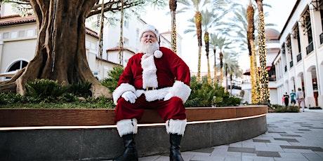 Photos with Santa under the Wishing Tree at Rosemary Square tickets