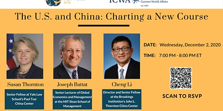 The U.S. and China: Charting a New Course tickets