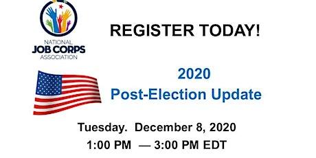NJCA Post -Election Update tickets