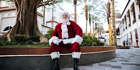 Photos with Santa at Tommy Bahama tickets