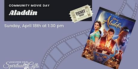 Family Movie Day: Aladdin tickets