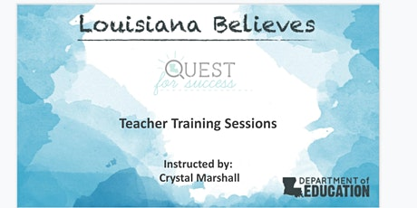 Quest for Success: Teacher Training Session tickets