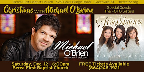 Christmas with Michael O'Brien featuring the Foto Sisters tickets