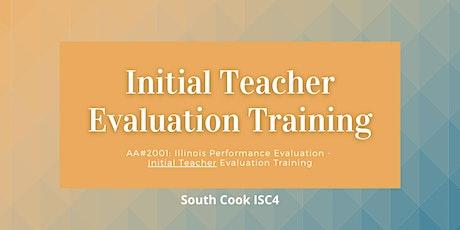 AA #2001: Initial Teacher Evaluation Training (06845) tickets