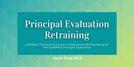 AA #1865: Principal Evaluator Competency Skill Building for Pre-Q...(06832) tickets