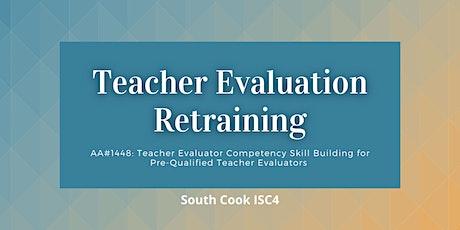 AA# 1448: Teacher Evaluator Competency Skill Building for Pre-Qua...(06814) tickets