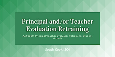 AA# 3000-3002: Principal / Teacher Evaluator: Student Growth (06833) tickets