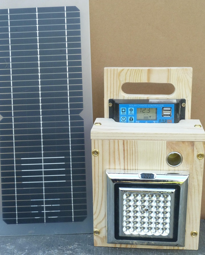 Small Solar Power Systems (YEW event) - 5th December image