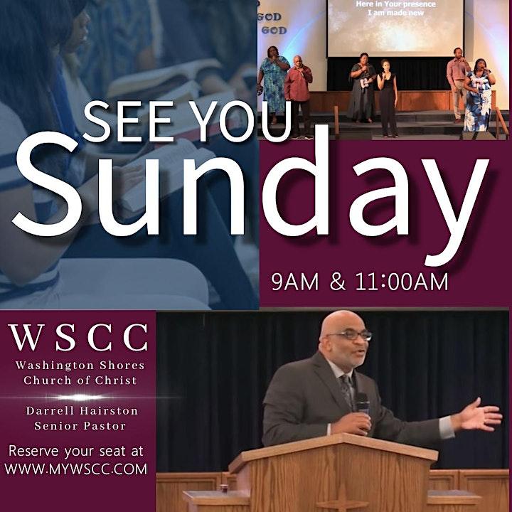 Copy of Washington Shores Church of Christ Sunday Worship @ 11:00AM image
