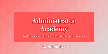 AA#1159: Leadership Capacity Through Teacher Leaders (06737) tickets