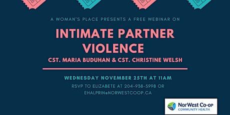 Intimate Partner Violence tickets