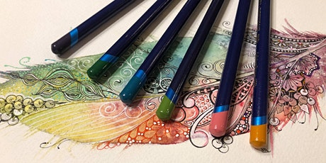 Falling for Feathers: A Tangled Watercolor Workshop (RECORDING) tickets