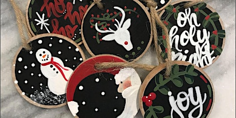 DIY Wooden Ornaments tickets
