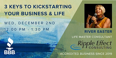 3 Keys to Kickstarting your Business & Life tickets