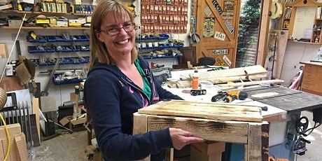 Pallet Upcycling - make a table to take away! 10am-4pm tickets