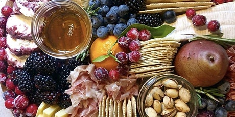 Holiday Charcuterie Design with Raleigh Cheesy tickets