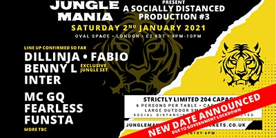 Jungle Mania presents a Socially Distanced Production #3 Poster