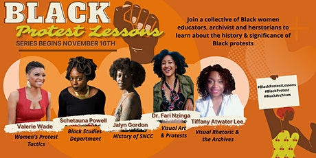 The History of Black Protests Lessons tickets