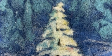 Christmas Tree Winter Scene Felting Workshop tickets