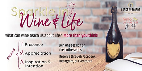 Sparkle in Wine & Life tickets
