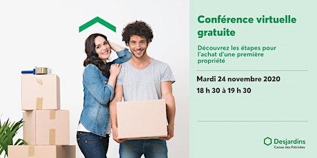 Conférence - Acheter une première propriété ingressos