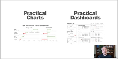 Nick Desbarats' Practical Charts and Practical Dashboards Online Workshop tickets