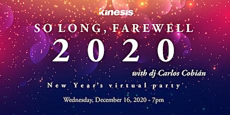 So Long, Farewell 2020 tickets