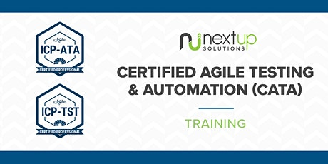Certified Agile Testing and Automation Training (Virtual)-Guaranteed to Run tickets