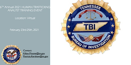 2021 FUSION CENTER HUMAN TRAFFICKING ANALYST TRAINING EVENT tickets