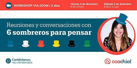 Reuniones y conversaciones con Seis Sombreros para Pensar entradas