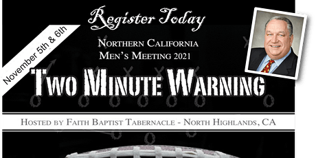TWO MINUTE WARNING, Men's Meeting 2021 tickets