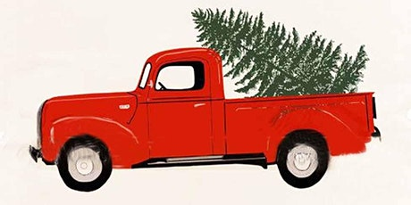 Painting Red Truck and a Tree, Art Class for Kids of age 6 - 13 tickets
