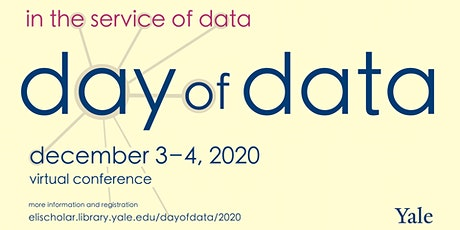 Yale Day of Data 2020 tickets