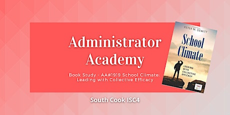 BOOKSTUDY-AA#1919 School Climate: Leading with Collective Efficacy (06788) tickets
