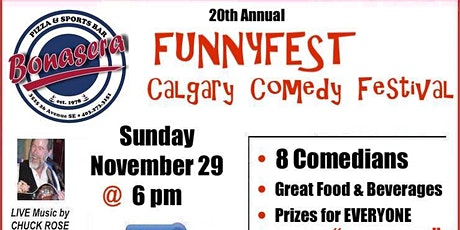 Sunday, Nov. 29 @ 6 pm - WRAP PARTY SHOW - 20th Annual FunnyFest Comedy tickets