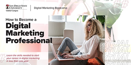 How to Become a Digital Marketing Professional   Info Session tickets