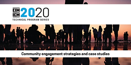 Community engagement strategies and case studies tickets